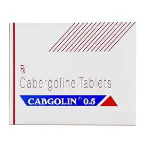 buy Cabergoline (Cabaser) 0.25mg (4 pills)