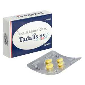 buy Tadalafil 20mg (4 pills)