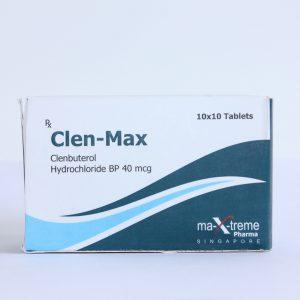 buy Clenbuterol hydrochloride (Clen) 40mcg (100 pills)