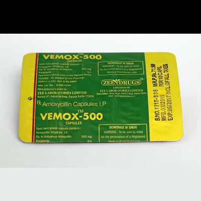 buy Amoxicillin 500mg (30 capsules)