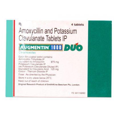 buy Augmentin 1000mg (4 capsules)