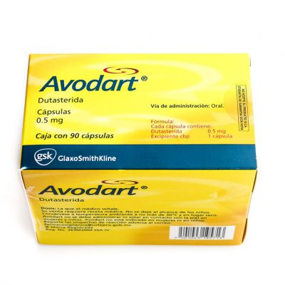 buy Dutasteride (Avodart) 0.5mg (15 capsules)