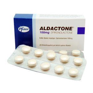 buy Aldactone (Spironolactone) 100mg (30 pills)