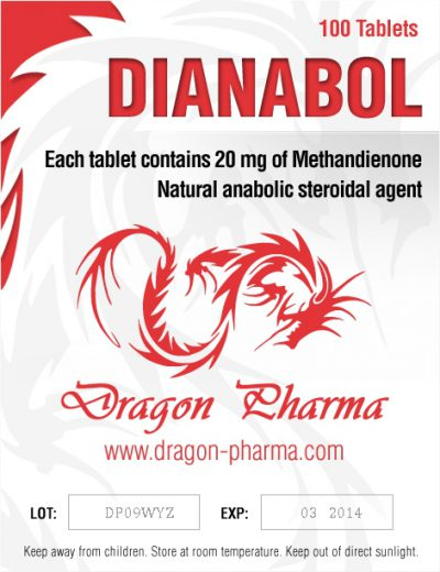 buy Methandienone oral (Dianabol) 20mg (100 pills)