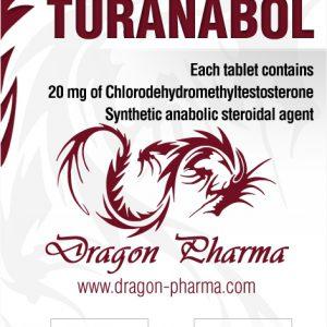 buy Turinabol (4-Chlorodehydromethyltestosterone) 100 Tabs (20 mg/tab)