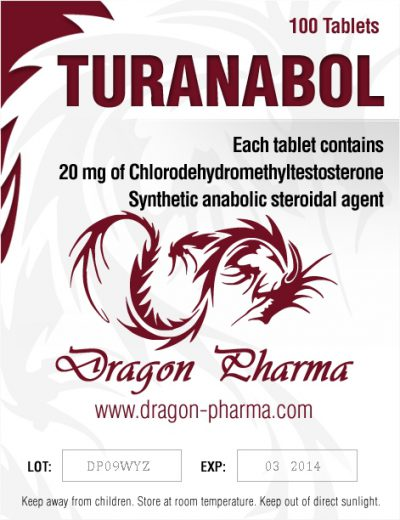 buy Turinabol (4-Chlorodehydromethyltestosterone) 100 Tabs (20 mg/tab)