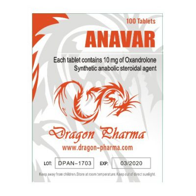 buy Oxandrolone (Anavar) 10mg (100 pills)