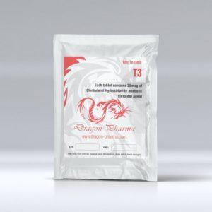buy Liothyronine (T3) 25mcg (100 pills)