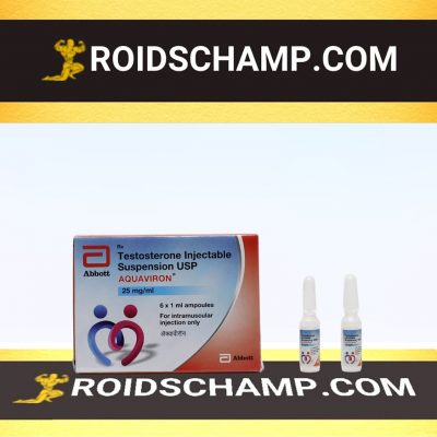 buy Testosterone suspension 12 ampoules (25mg/ml)