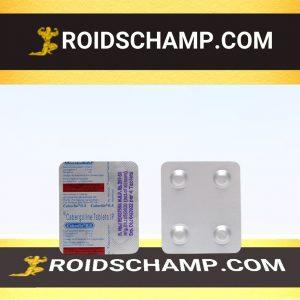 buy Cabergoline (Cabaser) 0.5mg (4 pills)